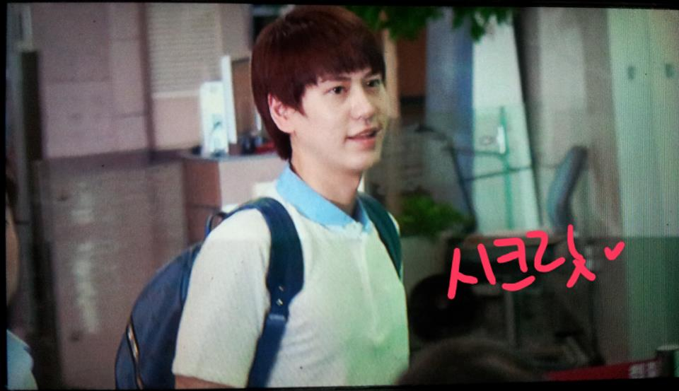 120803 Kyuhyun at Gimpo Airport (to Japan)